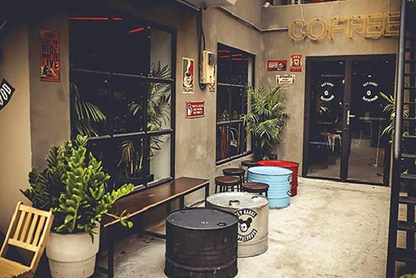 Quán cafe nhỏ thiết kế theo phong cách vintage