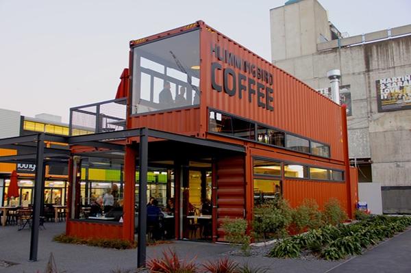 Cafe container - Mô hình mới lạ, độc đáo, thu hút khách hàng hiệu quả