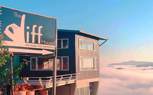 The Diff House's là một trong những quán cafe săn mây Đà Lạt view đẹp mà bạn nên đến