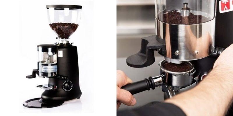Máy xay cafe giúp xay cà phê nhanh chóng, kiểm soát được lượng cà phê